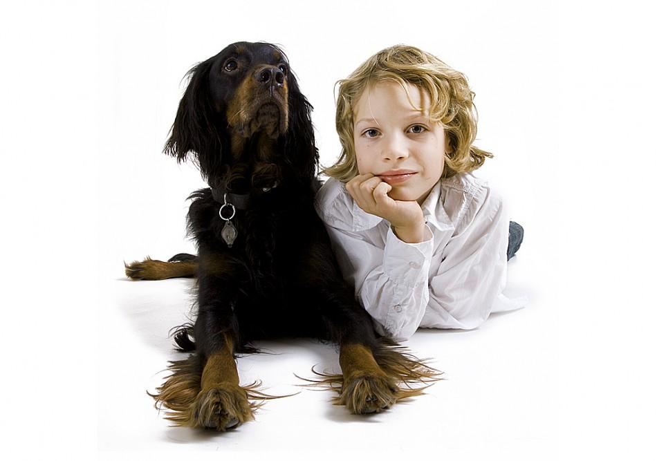Barn og kjæledyr