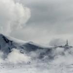 Landskapsfoto: Skyer på Fagernesfjellet