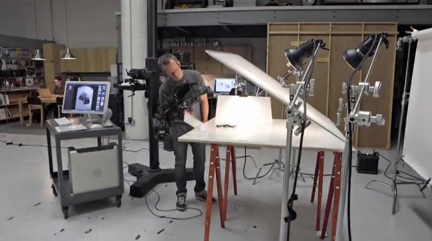 Produktfotografering time-lapse