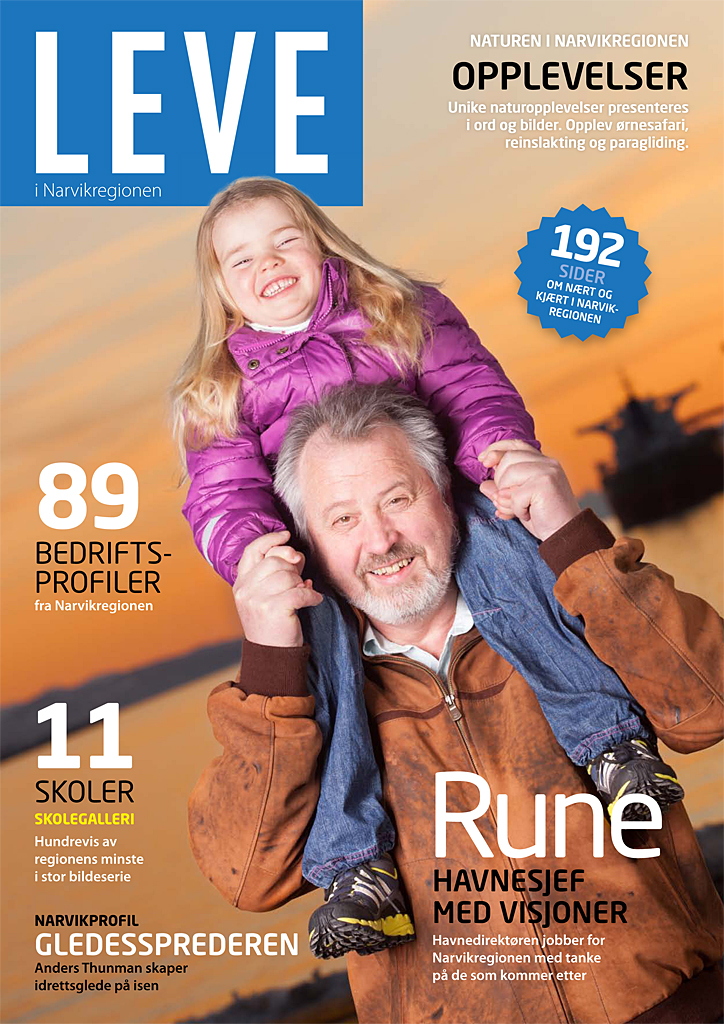 "New magazine ""LEVE i Narvikregionen"""