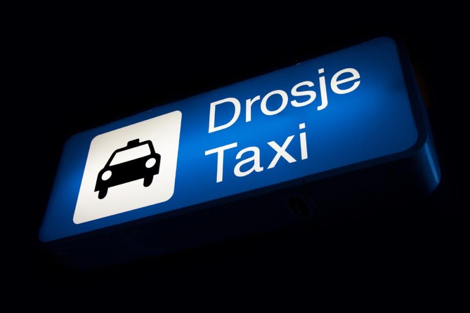 Taxi-skilt