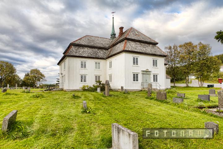 Evenes kirke til Evenes-kruset