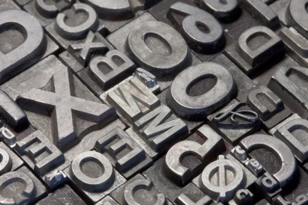 Tekst må arrangeres til ord og setninger som passer anledningen. (Foto: CSP)