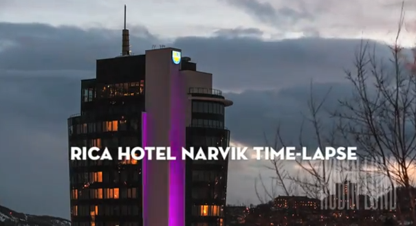 Rica Hotel Narvik time-lapse