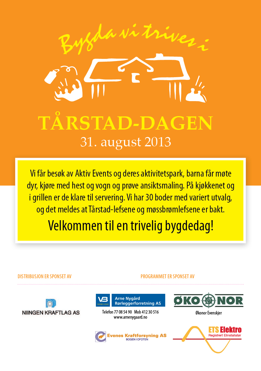 Program for Tårstad-dagen