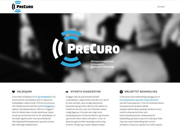 PreCuro skjermbilde