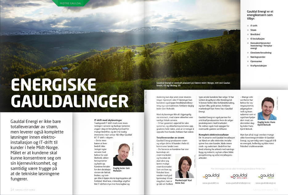 Oppdatert om næringslivet i Midt-Norge