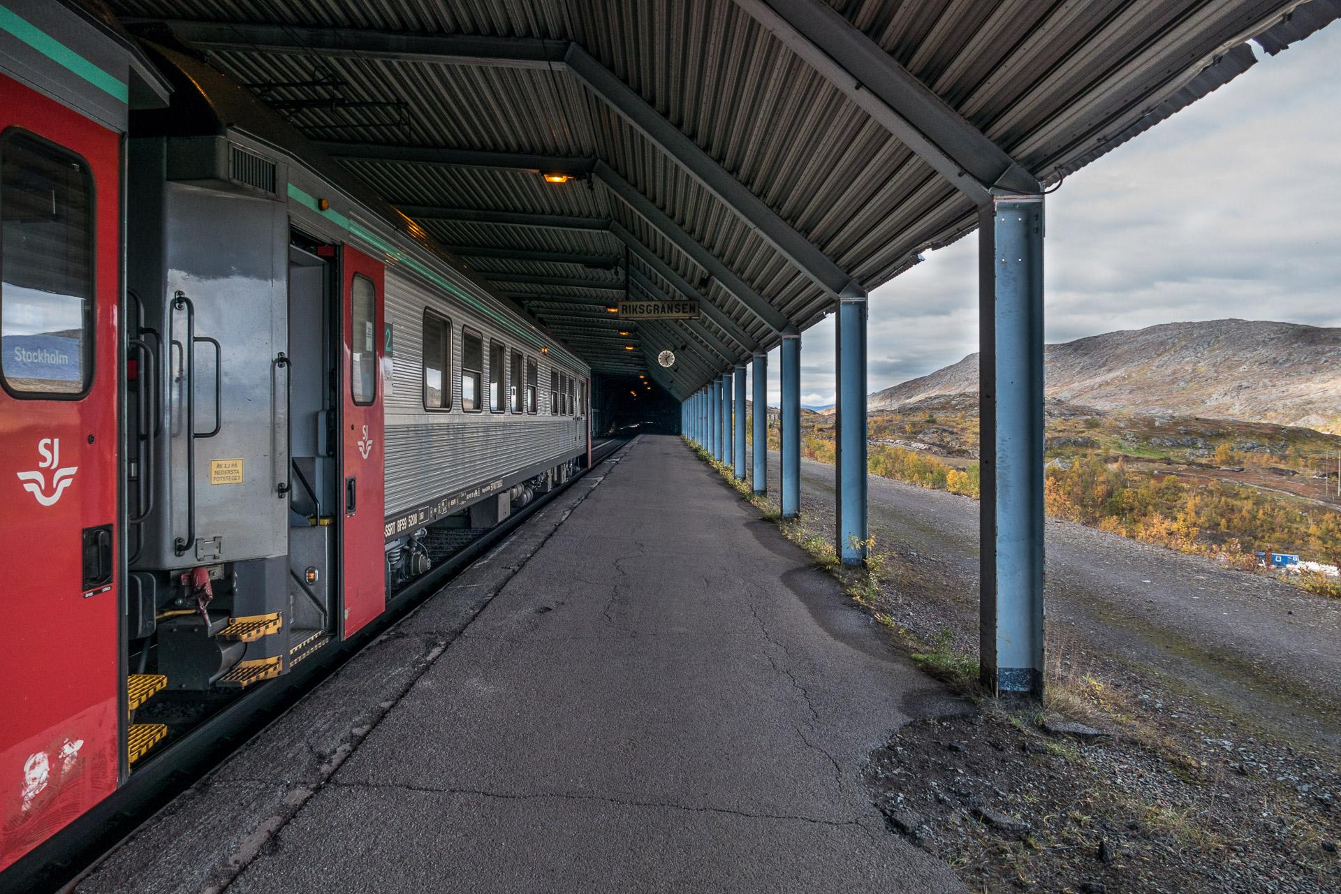 Riksgränsen togstasjon