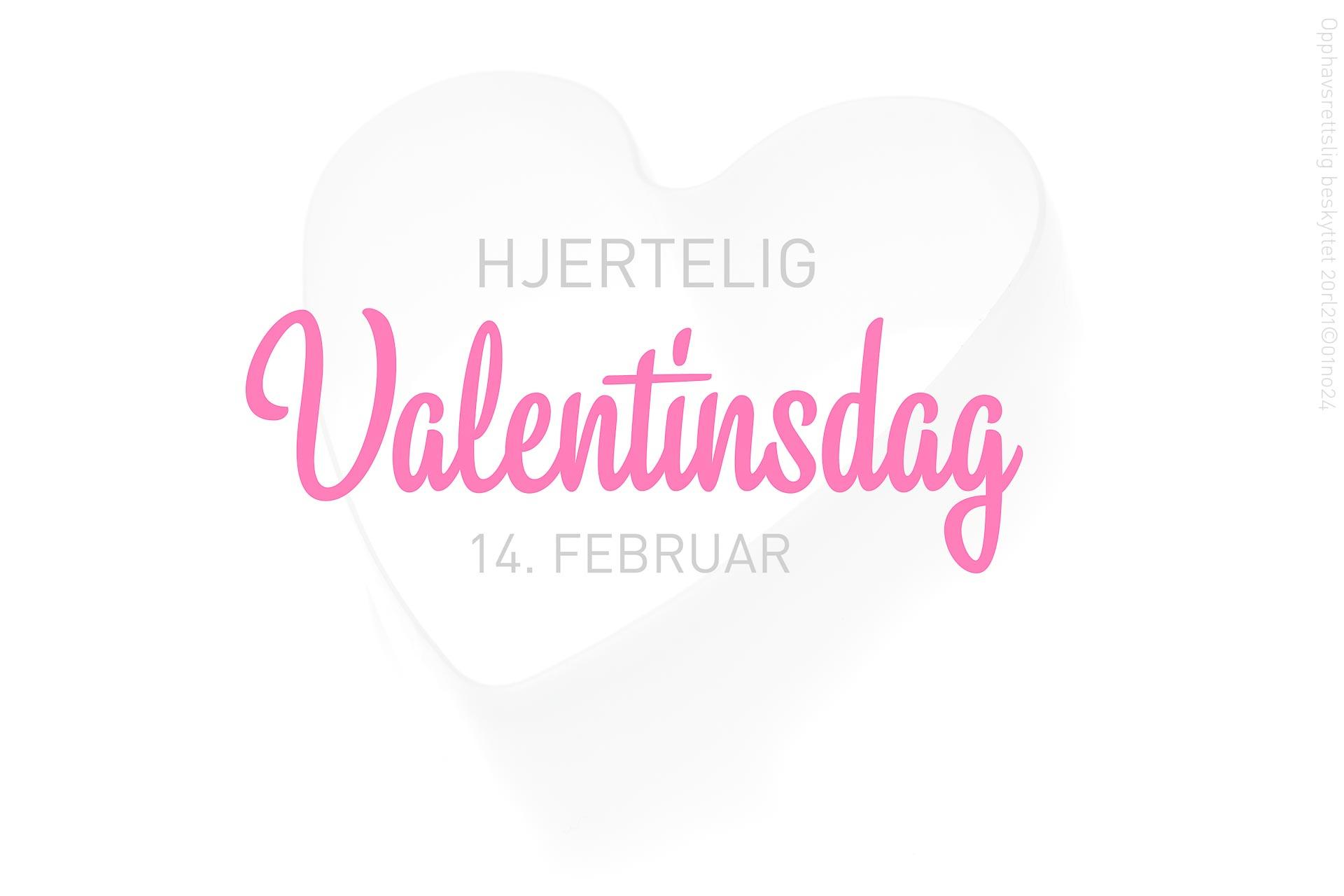 Hjertelig Valentinsdag