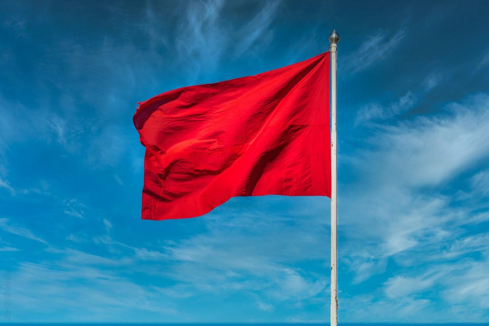 1. mai flagg