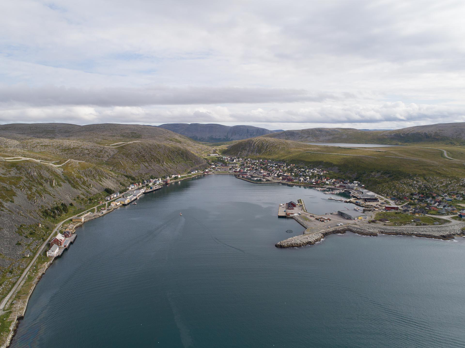 Kjøllefjord aerial
