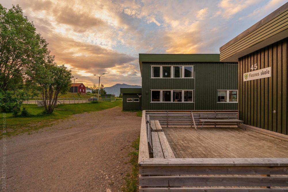 Flesnes skole, Kvæfjord
